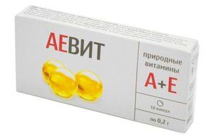 инструкция применения витамина аевит