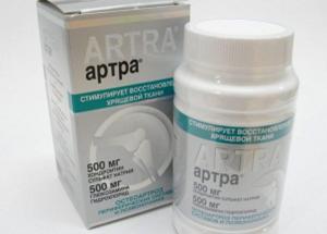 Препарат для восстановления суставов Артра -отличается безопасностью и эффективностью