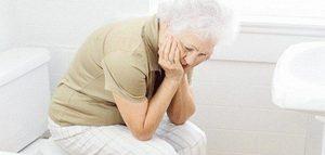 Пожилой человек болеет