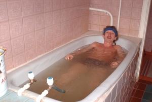 Длительность приема ванны