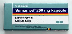 Использование антибиотиков при гаморите