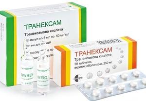 Кровоостанавливающие препараты при гинекологии