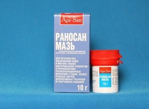 Мази с антибиотиком от ран