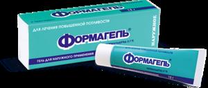 Формагель - очень эффективный препарат для лечения гипергидроза