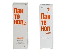 Как использовать препарат пантенол