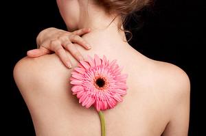 Решение проблемы с кожей на спине